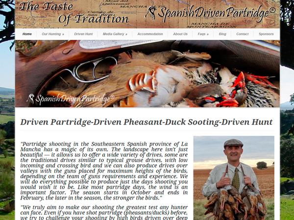Spanish Driven Partridge